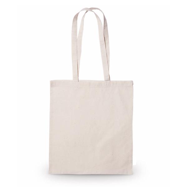 Торба памучна, со долга рачка